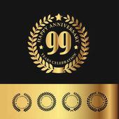 Golden Laurel Wreath 99 Anniversary