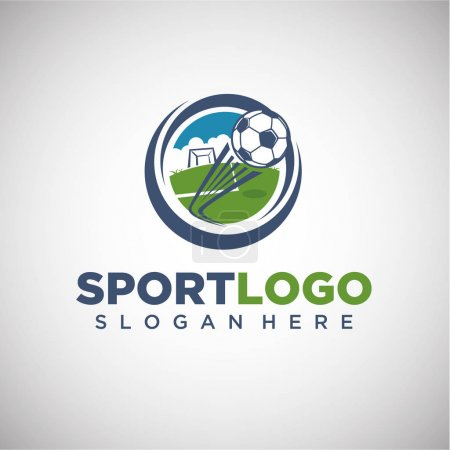 Sport Football Logo Template