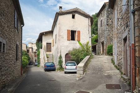 Impression of the village Vogue n the Ardeche region of France