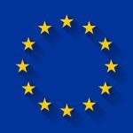 Flag of European Union, vector illustration...