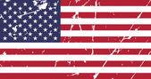 Damaged grunge American flag