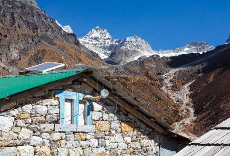 Stone Buildings in Mountain Village