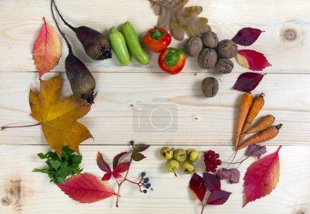 Autumnal Harvest on table