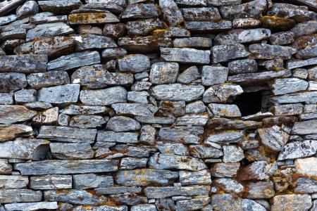 Stone Wall of rural Building
