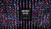 Wavy Abstract Graphic Design Modern Sense Of Science And Technology Background Vector