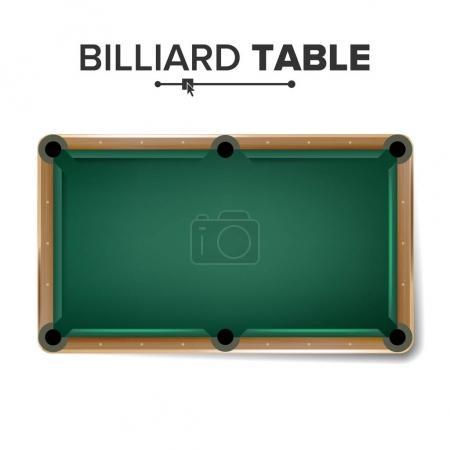 Billiard Table Vector Classic Green