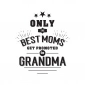Best grandma handwritten in black
