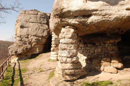 Ninth century cave monastery