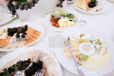 table served for wedding diner