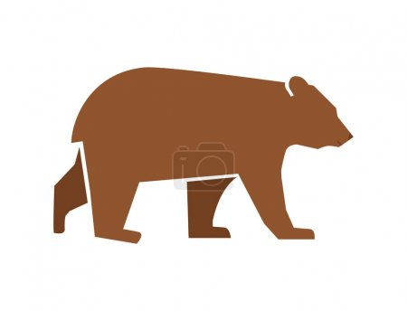 Silhouette of bear icon