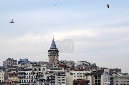 Galata Tower from icons of Istanbul