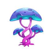 Fantasy cartoon mushroom