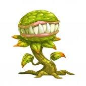 Monster plant illustration