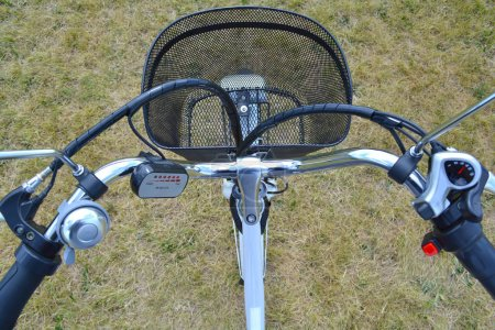 Electric bicycle rudder