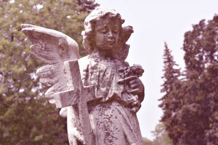 Figure of angel with wings