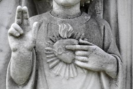 Detail of young Jesus