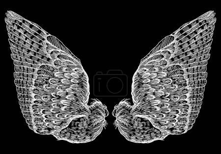 Wings pair set