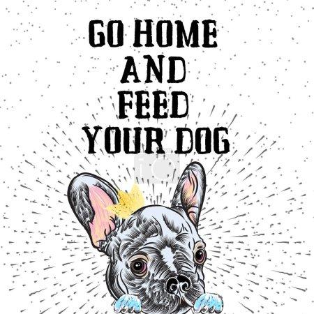 French Bulldog Dog poster