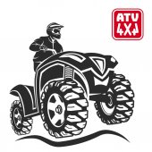 ATV All-terrain vehicle off-road design elements