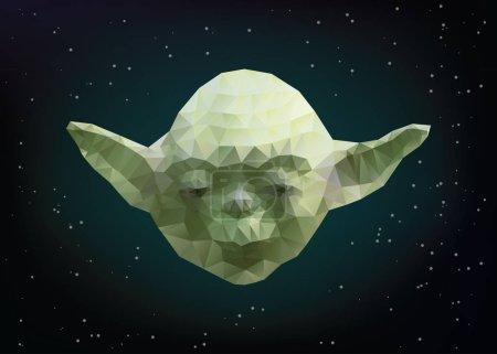 Vector illustration of Yoda