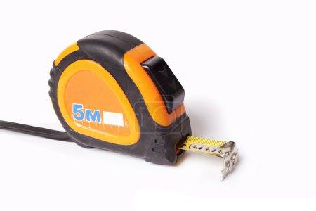 construction roulette, tape measure