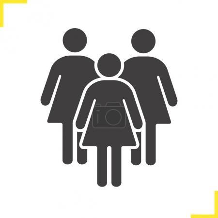 Women icon  symbol