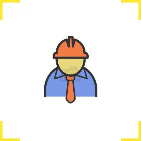 Engineer color icon