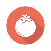 Tomato flat  icon