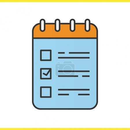 To do list color icon