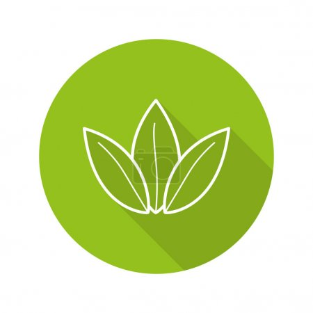 Tea leaves icon