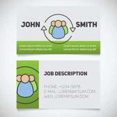 Business card print templates