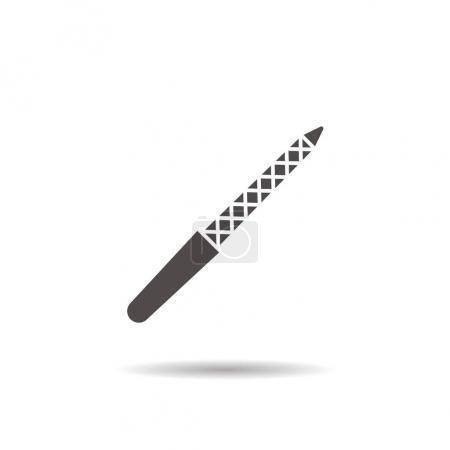 Nail file icon