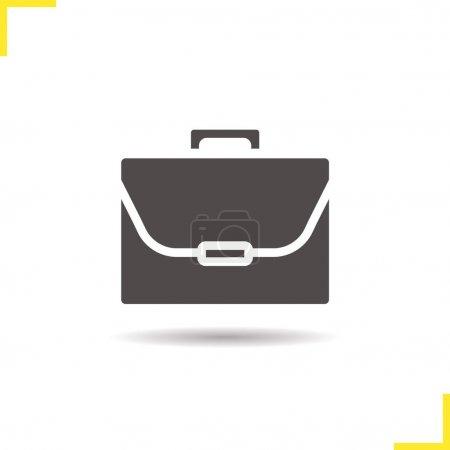 Briefcase flat icon