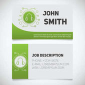 Business card print templates