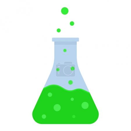 Green boiling potion color icon
