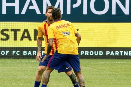 2017 International Champions Cup- FC Baecelona vs. Juventus