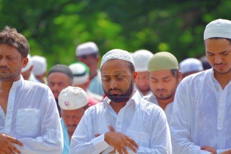 Indiens musulmans célèbrent l'Aïd