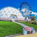 Постер, плакат: Science Museum Mars 2033 interactive exhibits in the Large Novosibirsk planetarium