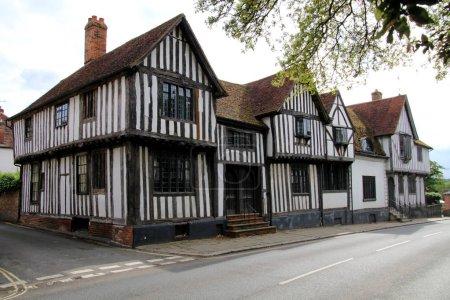 Photo pour Belle petite maison de Sudbury, Angleterre - image libre de droit