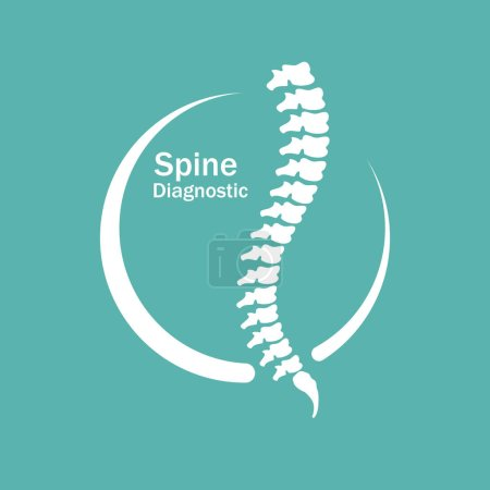Human spine Logo element