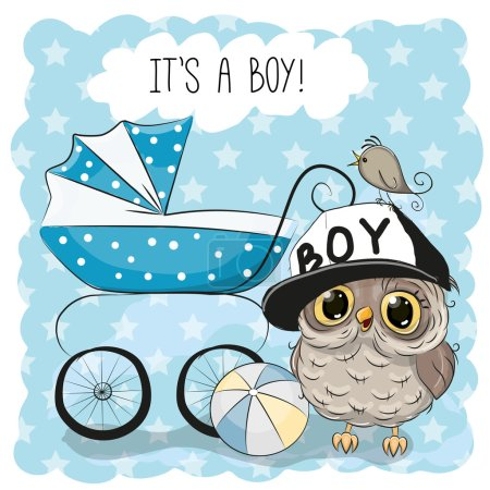 Greeting card its a boy