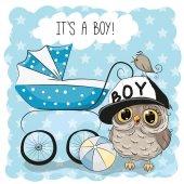 Greeting card its a boy