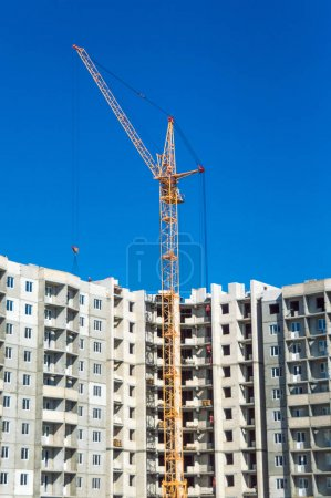 New development and industrial cranes