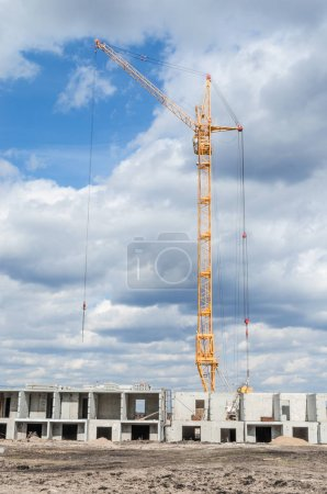 Construction machinery and construction of new building