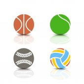 Set of sports icons vector illustration