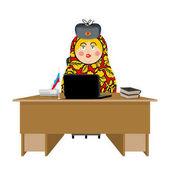 Russian hacker Matryoshka and laptop IP technology in Russia