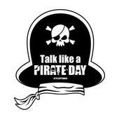 International Talk Like A Pirate Day Pirates cap Bones and sku