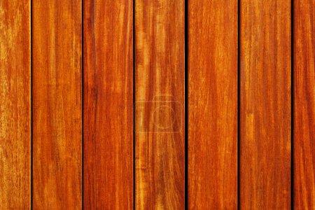 Photo pour Nouveau fond de grain de bois de teck - image libre de droit