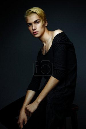 Photo for Handsome young blond man - Royalty Free Image