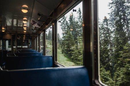 Vue du rail route